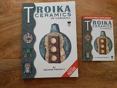 Troika Pottery Ceramics Of Cornwall George Perrott. (supplement Included).  • 90£