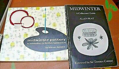 Midwinter: A Collectors Guide By Alan Peat RARE + Steven Jenkins  Midwinter  • 14.95£