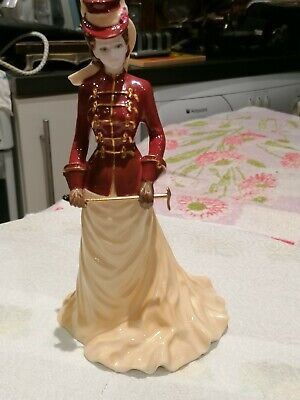 Lovely Vintage Limited Edition Coalport Figurine, The Rider No 221 Of 2000 • 34£
