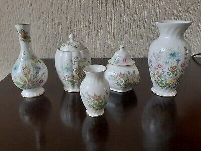0.99p Start - Aynsley Wild Tudor - Mixed Lot - Excellent Condition - Vintage • 0.99£