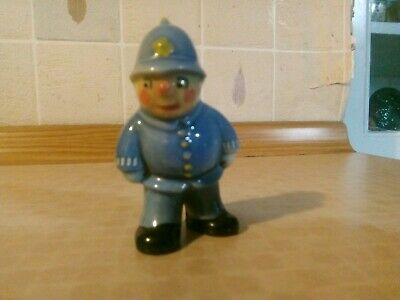 Wade Mr Plod Policeman Whimsie Noddy Big Ears Collectable • 39.99£