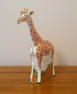Rare Royal Crown Derby *MOTHER GIRAFFE* Paperweight - C.2011 - Very Beautiful. • 175£