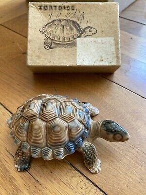 Wade Porcelain Vintage Tortoise Trinket Dish With Box • 5£