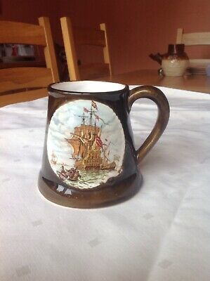 Great Yarmouth Pottery Mug, Excellent Condition • 3£