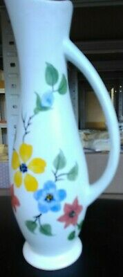 Radford Pottery,stylish Hand Painted Swan Neck Jug 24cm   • 15£