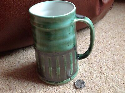 Vintage Cinque Ports Pottery Ltd The Monastery Rye Green Mug • 10£