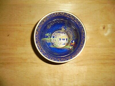 Blue  Mikado  Carlton Ware 1920's Art Deco W&R  Sugar Bowl • 4.99£