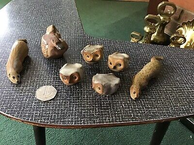 Mixed Group Of Small Vintage Tremar Pottery Animals • 12£