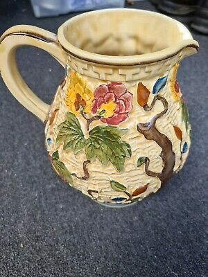 Antique Hand Painted Jug By H J Wood Staffordshire  • 12.90£