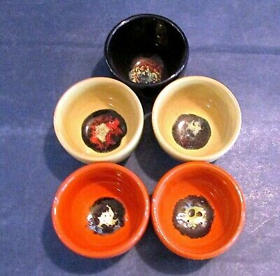 Set Of 5 Small Bowls Designed By Bjorn Wiinblad For Rosenthal • 50£