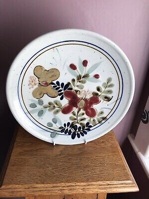 Highland Stoneware  Elphin Wall Hanging Plate. • 10£