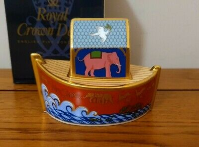 Rare Royal Crown Derby *NOAHS ARK* Paperweight - 1st Quality - Boxed - Beautiful • 55£