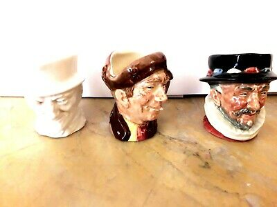 Royal Doulton Character Jug Arry Brown Pearly Boy, Gr Beefeater, White John Peel • 100£