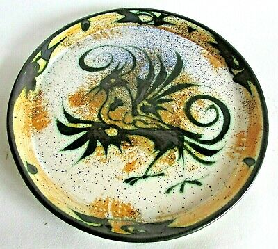 One Of The Largest Platter Made By Celtic Studio Pottery : Newlyn. Cornwall. • 45£