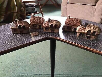 Vintage Tremar Pottery Small Houses • 10£