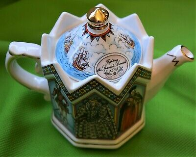 Elizabeth 1st Queen Of England Sadler  Vintage Teapot In Immaculate Condition • 29.99£