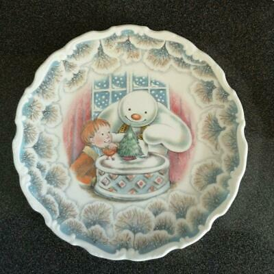 Royal Doulton Snowman Plate  Christmas Cake  2nd In The Series • 12.99£