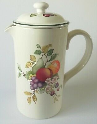 Johnson Brothers Fresh Fruit Coffee Cafetiere • 25£