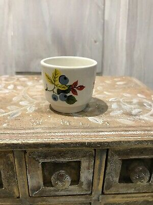 Retro Mid Century Modern Egg Cup Mexican Kitsch RIO Lord Nelson Pottery • 1.99£