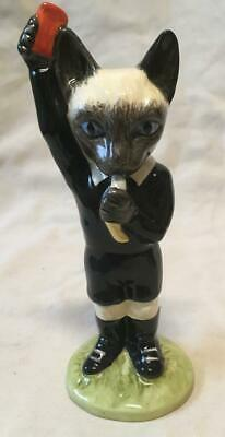 Beswick  The Footballing Felines  389 The Red Card • 35£