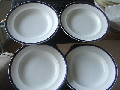 Bovey Devon.soup Bowls  X 4 Large. • 15£