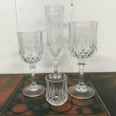 Selection Of Cristal D'arques Longchamp Lead Crystal Glasses, Postage Discounts  • 3.95£