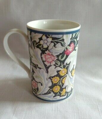 Dunoon Stoneware Mug -floral -  Richmond  Adapted From William Morris Designs • 12£