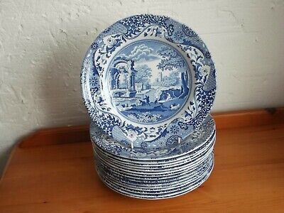 Spode, Blue Italian, 9 Inch, Luncheon Salad Plate. EXCELLENT CONDITION. • 9.95£