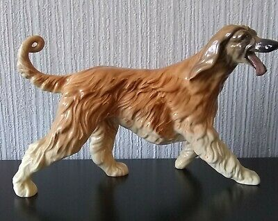 Royal Doulton Figurine Of Running Afghan Dog • 29.99£