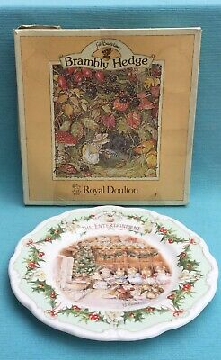 Lovely Boxed Royal Doulton Brambly Hedge Midwinter Series The Entertainment • 15£