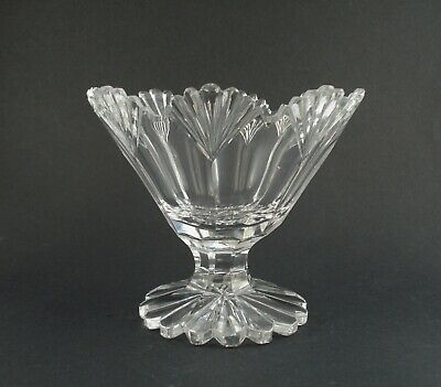 An English Cut Glass William IV Sugar Bowl, Circa 1835 • 9.99£