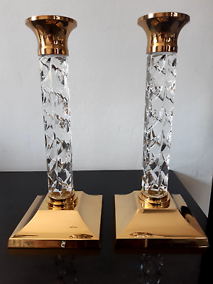 Waterford Crystal Candle Sticks • 56£