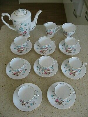 Vintage Royal Stafford Bone China Cloverbel From 1950's 19 Pieces • 70£