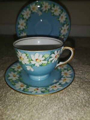 Vintage Crown Staffordshire Trio Cup, Saucer & Plate • 3.60£