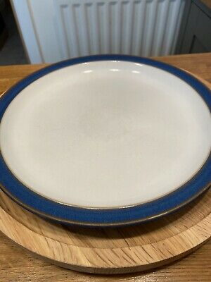 Denby Imperial Blue Dinner Plate In Used Condition • 2.50£