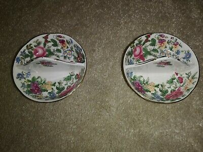 Vintage Crown Staffordshire Divided Dishes • 5£