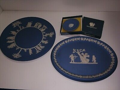 Collection Of Wedgwood Jasper Ware (8) • 35£