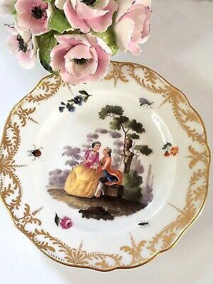 Meissen Courting Couple Lovers Cabinet Plate Wall Plate  • 95£