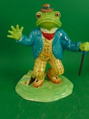 Mr Toad Wind In The Willows Royal Doulton Mr Toad • 26£