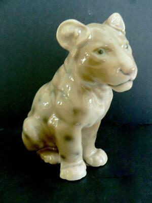 BING & GRONDAHL SPOTTED LION CUB 1923 B&g RETIRED • 91.43£