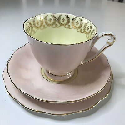 Queen Anne Cup Saucer And Side Plate • 12£
