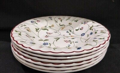 Staffordshire Oakwood Rimmed  Bowls ×6 . Excellent Condition • 30£
