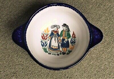 Vintage Quimper French Pottery Bowl • 7.95£