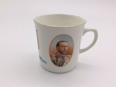 Antique Royal Winton – Coronation Mug King George V & Queen Mary 1911 – Ex Cond • 29.99£