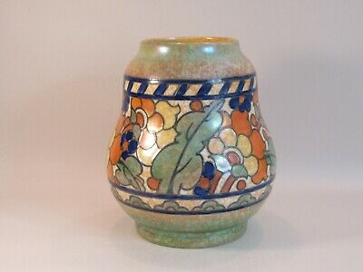 Crown Ducal Charlotte Rhead 'byzantine' Pattern Vase 2681 - Signed - C.1932 (2) • 115£