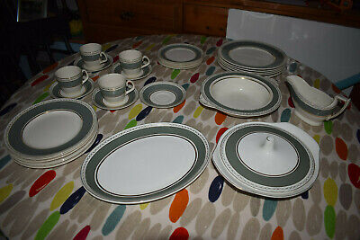 Real English Ironstone - Adams Micratex Dinner Service 32 Pieces • 80£