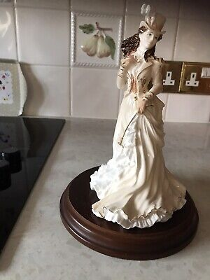 Coalport Figurine -  Helena Riding In Hyde Park - Excellent Condition • 40£