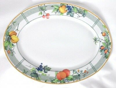 Wedgwood Home Eden Oval Serving Platter - 14 Inches • 30£