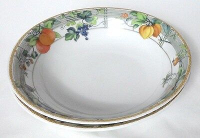 2 X Wedgwood Eden Cereal Bowls - 8 Inches • 37£