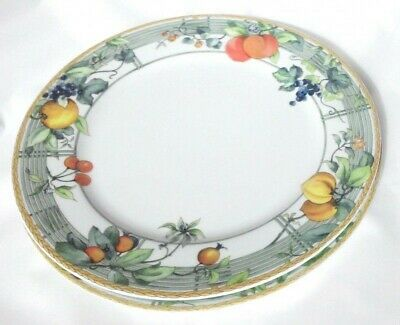 Wedgwood Eden Salad Plates X 2 - 8 3/4 Inches • 22£